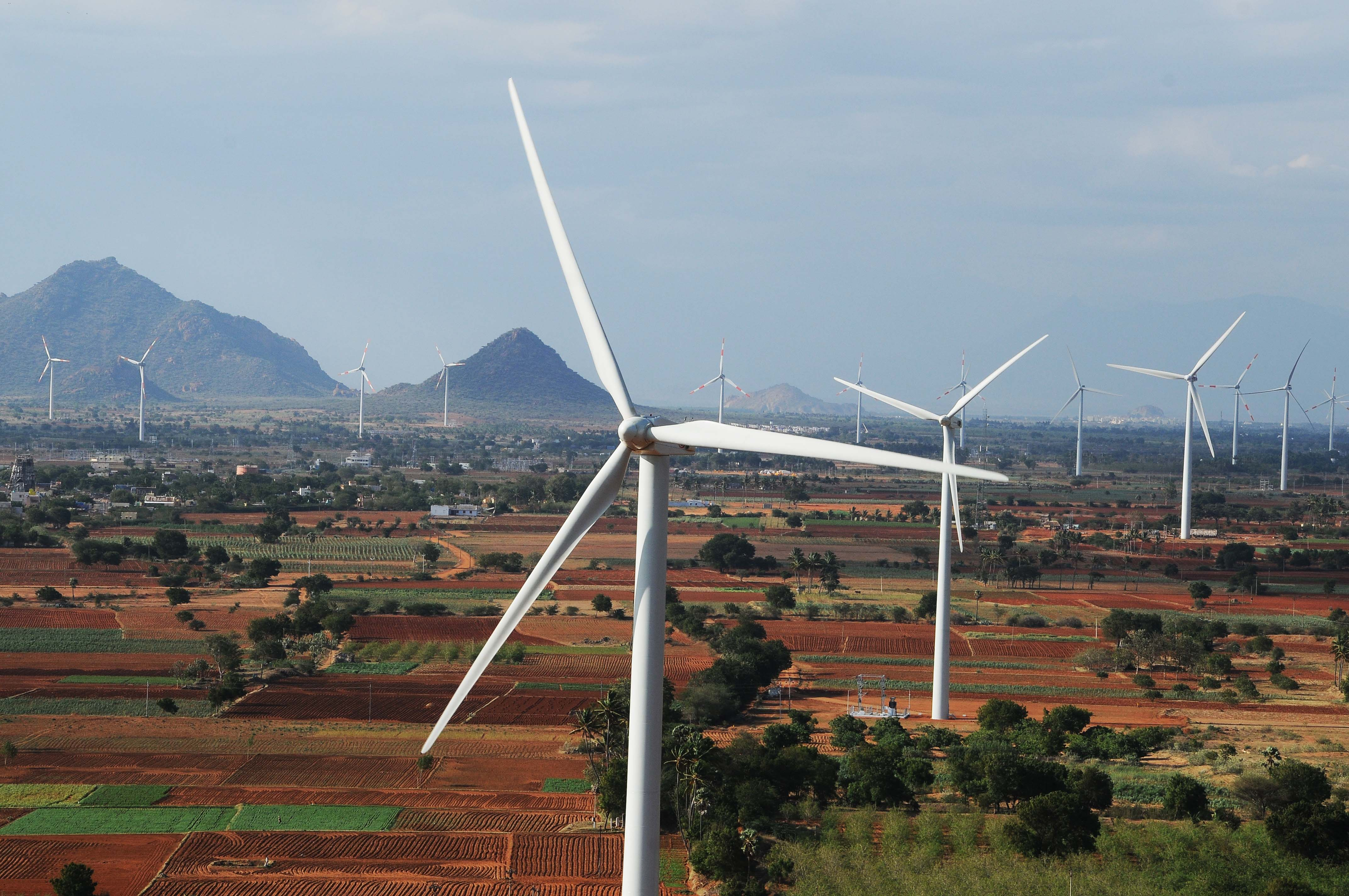 Wind Farm in India